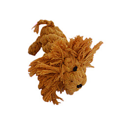 Dog Toy Pet Toys Teeth Cleaning Toy Lion Cotton