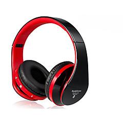 eb203 opvouwbare on-ear draadloze stereo bluetooth hoofdtelefoon met fm& TF-kaart reade