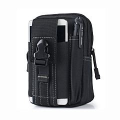Universal Outdoor Tactical Holster Military Hip Waist Belt Bag Wallet Pouch Purse Phone case with Zipper for iphone7 7P 6S 6P 5S and other phone
