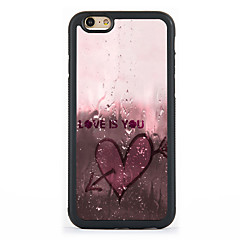 Voor Patroon hoesje Achterkantje hoesje Hart Hard Aluminium AppleiPhone 7 Plus / iPhone 7 / iPhone 6s Plus/6 Plus / iPhone 6s/6 / iPhone