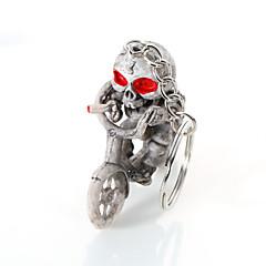 europe et aux États-Unis de haute qualité qualité porte-clés boutique créative vélo squelette accrocher porte-clés