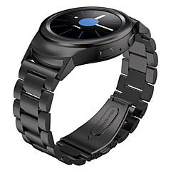 med stik adapter rustfrit stål 3 perler udskiftning smarte ur band armbånd til samsung gear s2 sm-R720 R730