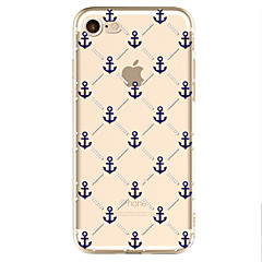 For Mønster Etui Bagcover Etui Anker Blødt TPU for Apple iPhone 7 / iPhone 6s/6