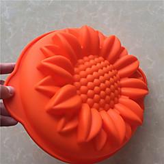 PC 1 molde para hornear pan molde de la torta del molde de silicona líquida 3d jabones creativas