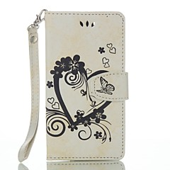 for Wiko Lenny 3 Lenny 2 Full Body Heart Embossed Leather Wallet