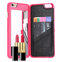 Na Etui iPhone 7 / Etui iPhone 7 Plus Etui na karty / Lustro Kılıf Etui na tył Kılıf Jeden kolor Twarde PC AppleiPhone 7 Plus / iPhone 7