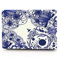 MacBook Hoes voor Macbook Bloem polycarbonaat Materiaal