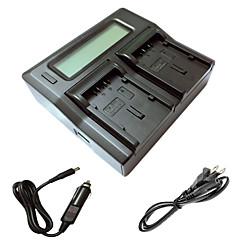 ismartdigi du21 lcd kettős töltő autós töltő kábel Panasonic gs78 gs108 GS27 GS28 GS500 du14 du21 kamera batterys