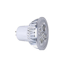 z®zdm GU5.3 / GU10 5w 350-400lm AC110V / 220V 디 밍이 가능한 따뜻한 / 자연 / 차가운 백색 반점 빛을 주도