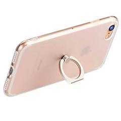 Na Uchwyt pierścieniowy / Przezroczyste Kılıf Etui na tył Kılıf Jeden kolor Miękkie TPU AppleiPhone 7 Plus / iPhone 7 / iPhone 6s Plus/6