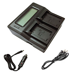 ismartdigi FW50 lcd kettős töltő autós töltő kábel sony A5000 a5100 a7r nex6 7 5TL 5R 5n 3NL c3 kamera batterys