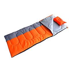 Saco de dormir Retangular Solteiro (L150 cm x C200 cm) 10 Penas de Pato 1000g 230X100 Campismo / Viajar / InteriorProva de Água / Á