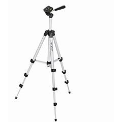 Câmara Preto Fotografia tripé de liga de alumínio de quatro seção de câmera digital SLR tripé de câmera