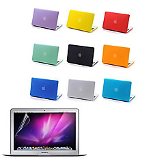 Top Quality Full Body Matte Case and Screen Protetive Film for Macbook Air 13.3 inch