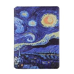 Mert Kártyatartó Origami Case Teljes védelem Case Látvány Kemény Műbőr mert Apple iPad Air 2 iPad Air