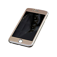 titanium legering fuld dækning bue hærdet glas skærmbeskyttelse film (forside og bagside) (rosa guld) til iphone6 plus