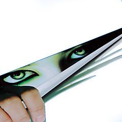 ziqiao etiqueta engraçada do carro olhos 3d espreitar janela traseira decalque monstro voyeur carro capuzes