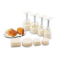 16 pieces of moon cake mold pastry mold kitchen gadget