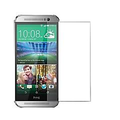 ultratunn hd klar explosionssäker härdat glas skärmskydd Skal till HTC One M8