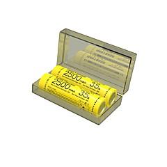NITECORE IMR18650 3100MAH 35A Li-ion Rechargeable Battery (Two Batteries/ Box)