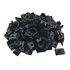 k049 100 adet otomobil oto plastik 5mm delik fiş raptiye kaput destek çubuk destek klip