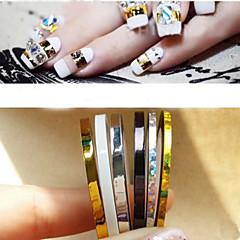 5 Neglekunst Dekoration Rhinsten Perler Makeup Kosmetik Neglekunst Design