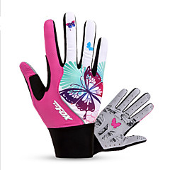 BATFOX® Sports Gloves Women's Cycling Gloves Spring Autumn/Fall Winter Bike Gloves Breathable Shockproof Wearable Full-finger GlovesLycra