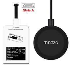 style un kit de charge chargeur du récepteur de l'adaptateur récepteur bobine pad sans fil Android pour tout style un micro usb smartphone