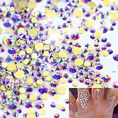 1pack Nail Art dekoráció strasszos gyöngy smink Kozmetika Nail Art Design