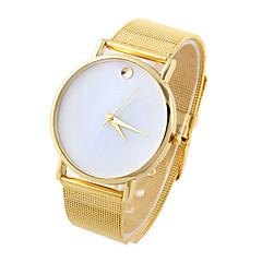 Masculino Mulheres Unissex Relógio Esportivo Relógio Elegante Relógio de Moda Quartzo Lega Banda Casual Cores Múltiplas Dourado