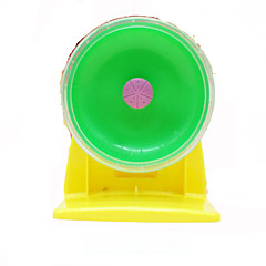 Rodents Exercise Wheels Waterproof Plastic Green