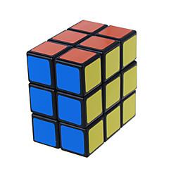 LanLan® Tasainen nopeus Cube 2 * 3 * 3 Professional Level Rubikin kuutio Musta Fade Ivory Smooth Tarra / Anti-pop säädettävä jousi ABS