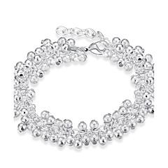 Dame Kæde & Lænkearmbånd Mode Boheme Stil Punk Stil Personaliseret minimalistisk stil Plastik Sølvbelagt Drage Sølv Smykker ForFest