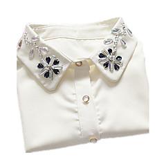 Dame Krave Blonde Simuleret diamant Enkelt design Mode Smykker Til Fødselsdag Daglig Afslappet