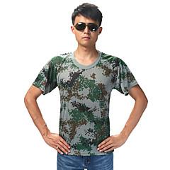 Unisex T-paita Metsästys Hengittävä Käytettävä Kesä Naamiointi