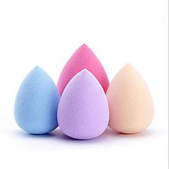 4pcs kropelki wody puff multicolor 34x46mm gorąca makijaż gąbka gąbka puff puff kolor losowo