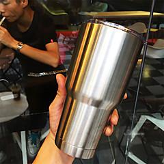 roestvrij stalen dubbele wand tumbler, grote koffiemok / reismok voor warme en koude dranken, 30 oz