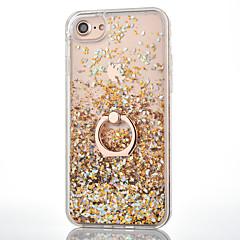 Για iPhone 8 iPhone 8 Plus iPhone 7 iPhone 7 Plus iPhone 6 Θήκες Καλύμματα Ρέον υγρό Βάση δαχτυλιδιών Πίσω Κάλυμμα tok Λάμψη γκλίτερ