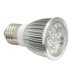4W E14 GU10 E27 Luces LED para Crecimiento Vegetal 4 LED de Alta Potencia 360-400 lm Rojo Azul V 1 pieza