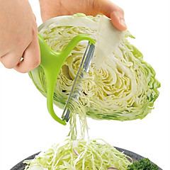 1개 Apple 감자 알줄기 양배추 필러 및 강판 For 과일의 경우 야채에 대한 조리기구에 대한 플라스틱 스테인레스 스틸 고품질 멀티기능 크리 에이 티브 주방 가젯