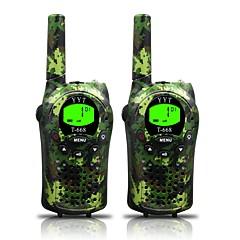 hadsereg gyerekeknek walkie talkie 22 csatorna és (akár 5km nyílt terepen) armygreen walkie talkie gyerekeknek (1 pár) t668