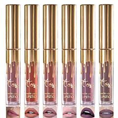 1 PC의 고품질 무광택 립스틱 모이스처 라이저 방수 누드 립 스틱 lipgloss