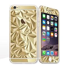 voor Apple iPhone 6s / 6 4.7 screen protector voor screen protector en rugbeschermer galvaniseren geometrisch patroon