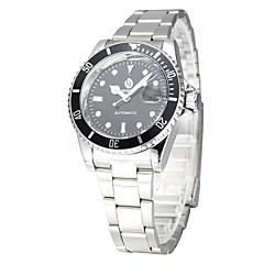 Herren Damen Unisex Sportuhr Kleideruhr Modeuhr Armbanduhr Mechanische Uhr Automatikaufzug Legierung Band Bettelarmband Bequem Mehrfarbig