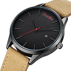 Fashion Casual Mens Watches Top Brand Luxury Leather Business Quartz-Watch Men Wristwatch Relogio Masculino
