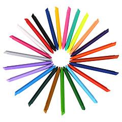 24 kolory kredki plastikowe 1 zestaw 24 szt