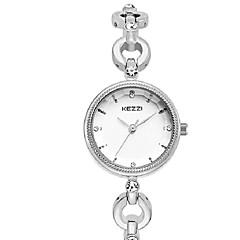 Mulheres Relógio de Moda Bracele Relógio Quartzo Quartzo Japonês PU Banda Casual Prata Dourada Ouro Rose Dourado Prata Rosa