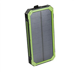 16000mAhSnaga banka vanjske baterije Solarno punjenje Multi-izlaz Baterija Vodootporno Otporno na trešnju 16000 2000Solarno punjenje