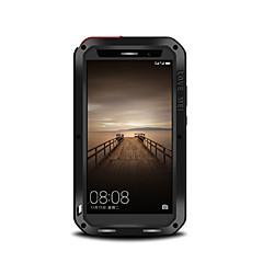 Mert Ütésálló Porálló Vízálló Case Teljes védelem Case Egyszínű Kemény Fém mert Huawei Huawei Mate 9