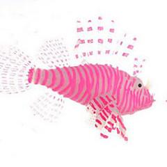 Akváriumdíszek Műhal Nem mérgező és íz nélküli Gumi